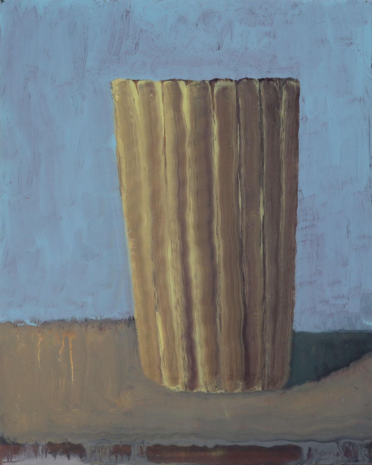 De Chirico Becher | 2018 | Öl / Holz | 30 x 24 cm