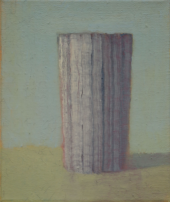 Becher Grau-Grün | 2018 | Öl / Leinwand | 30 × 25 cm