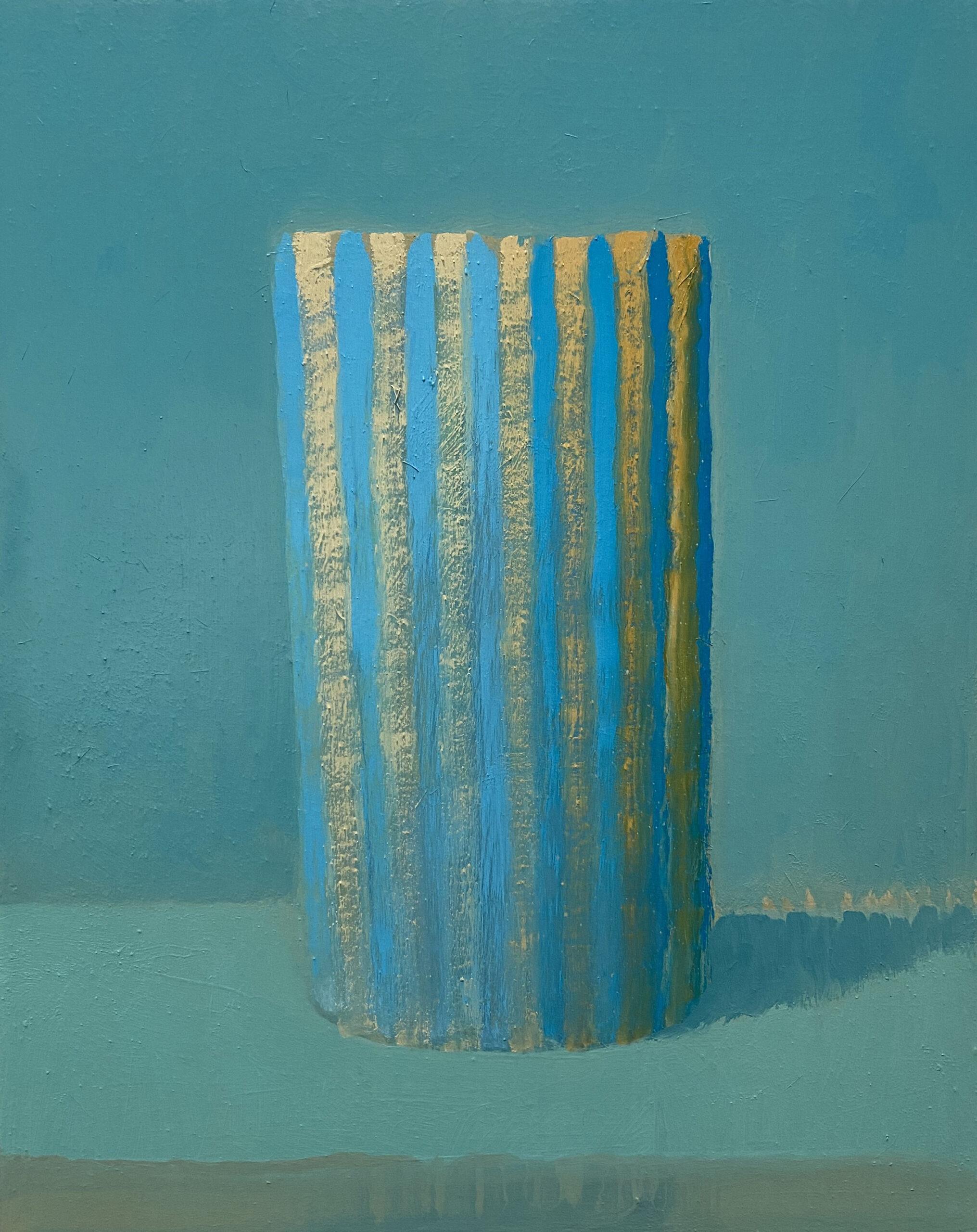 Becher majestätisch | 2021 | Öl / Holz | 30 x 24 cm