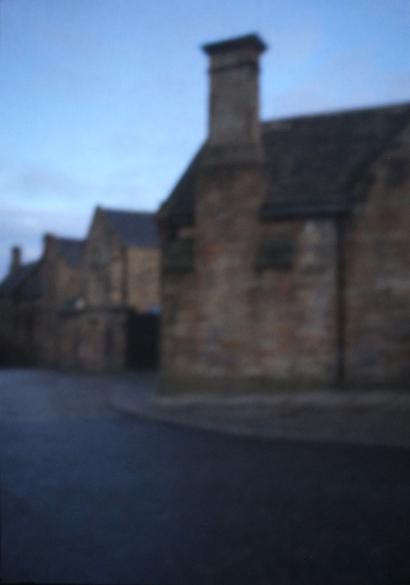 Hausfassade in Durham | 2016 | Camera Obscura | Pigmentdruck auf Alu-Dibond | 180 x 140 cm