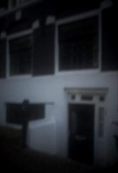 Hausfassade Amsterdam I | 2014 | Camera Obscura | Pigmentdruck auf Alu-Dibond | 180 x 140 cm
