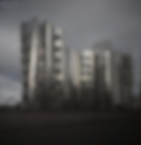 Hafen Düsseldorf IV | 2015 | Camera Obscura | Pigmentdruck auf Alu-Dibond | 180 x 160 cm