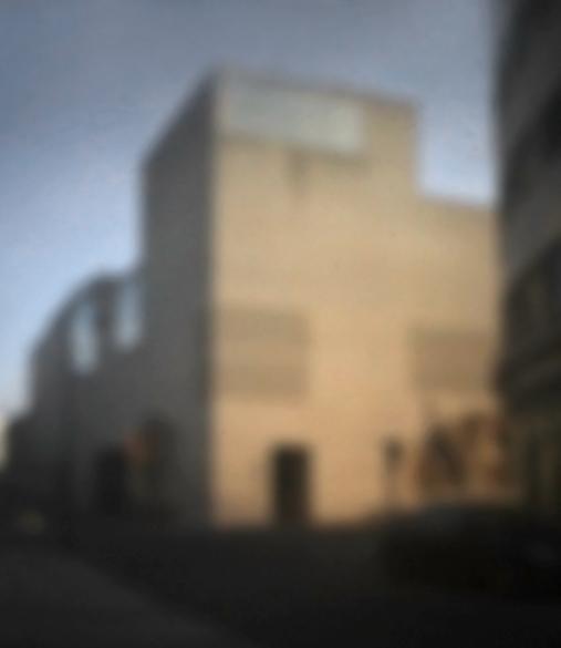 Kolumba Museum, Köln | 2014 | Camera Obscura | Pigmentdruck auf Alu-Dibond | 180 x 160 cm