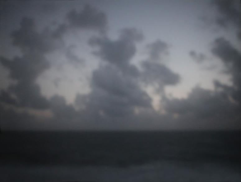 Wolkenbild III | England | 2014 | Camera Obscura | Pigmentdruck auf Alu-Dibond | 180 x 140 cm