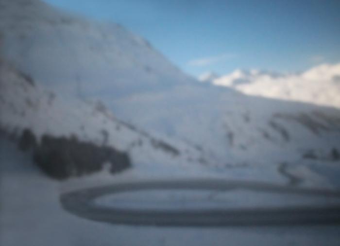 Julierpass | Schweiz | 2015 | Camera Obscura | Pigmentdruck auf Alu-Dibond | 150 x 200 cm
