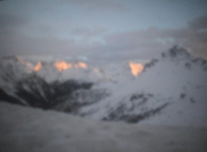 Berninapass | Schweiz | 2015 | Camera Obscura | Pigmentdruck auf Alu-Dibond | 150 x 200 cm