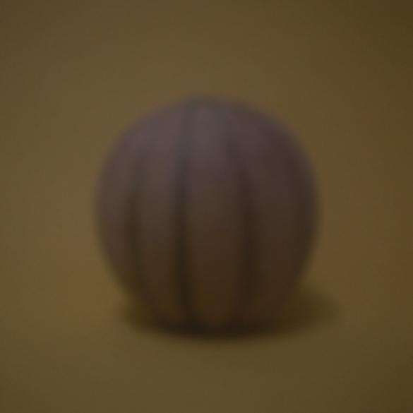 Honigmelone gelb | 2016 | Camera Obscura | Pigmentdruck auf Alu-Dibond | 40 x 40 cm