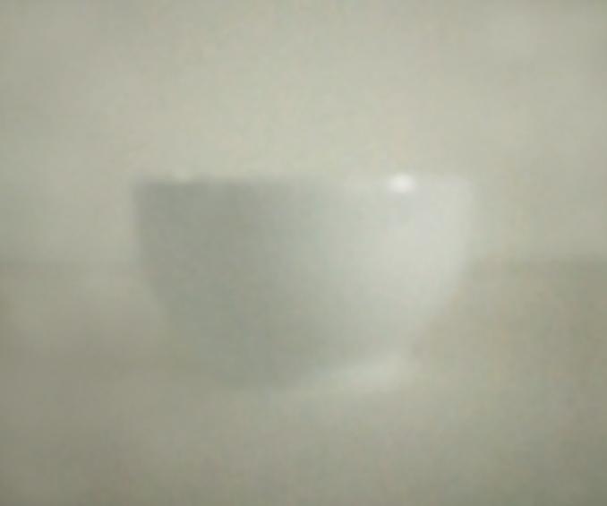 Weiße Schale | 2016 | Camera Obscura | Pigmentdruck auf Alu-Dibond | 180 x 130 cm