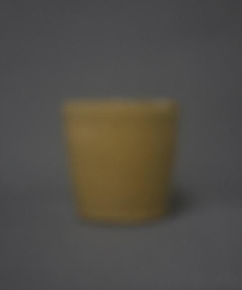 Gelber Becher | 2016 | Camera Obscura | Pigmentdruck auf Alu-Dibond | 40 x 40 cm