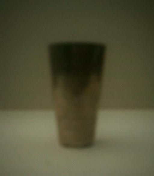 Becher | 2012 | Camera Obscura | Pigmentdruck auf Alu-Dibond | 40 x 30 cm