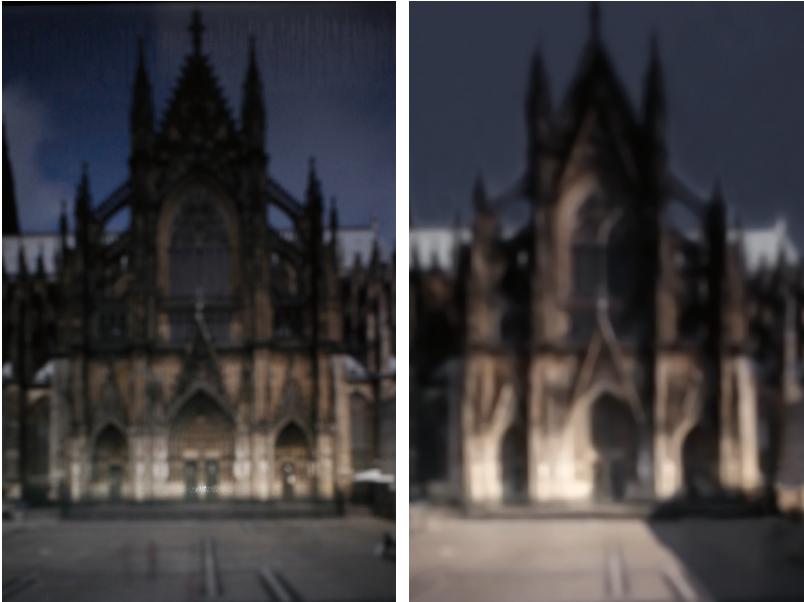 Aufnahmen aus der Lichtkammer